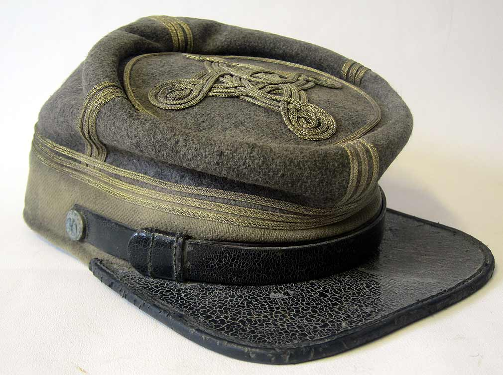 Confederate Major Cavalry Kepi