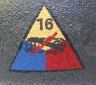Armoured Division Numbers - Stencils