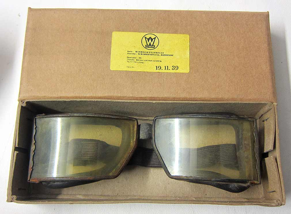 O.W. Wagner Goggles Box