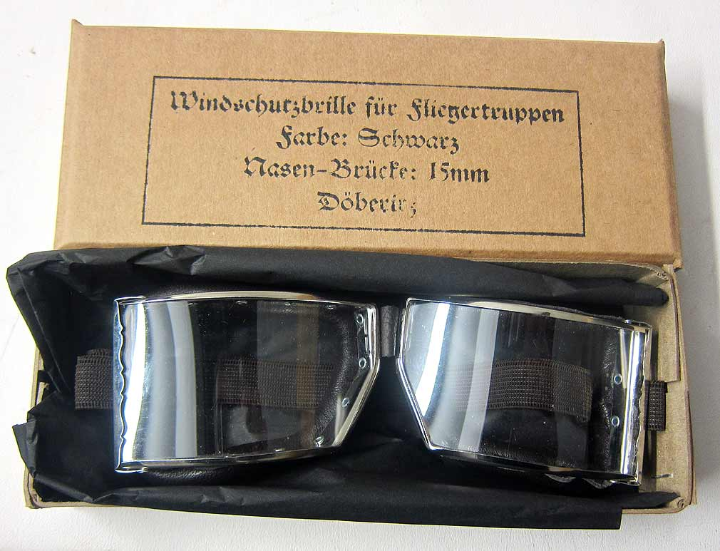 WW1 German Flying Goggles - New with free box
