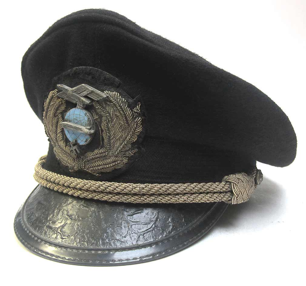 Zeppelin Commanders Cap WW2 Period