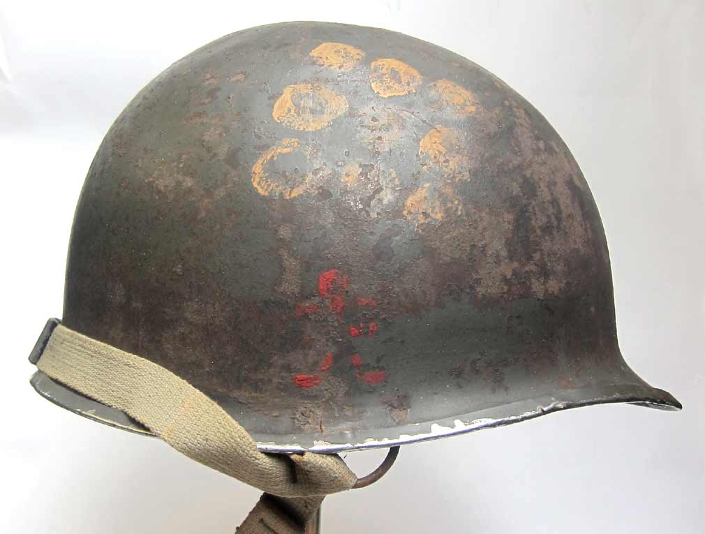 'Geronimo' 509th PIR Helmet WW2