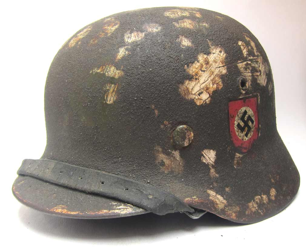 Double Decal M35 Waffen SS Helmet - Reproine