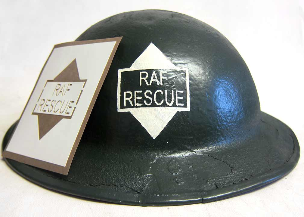 WW2 RAF Rescue Helmet Stencil Royal Air Force