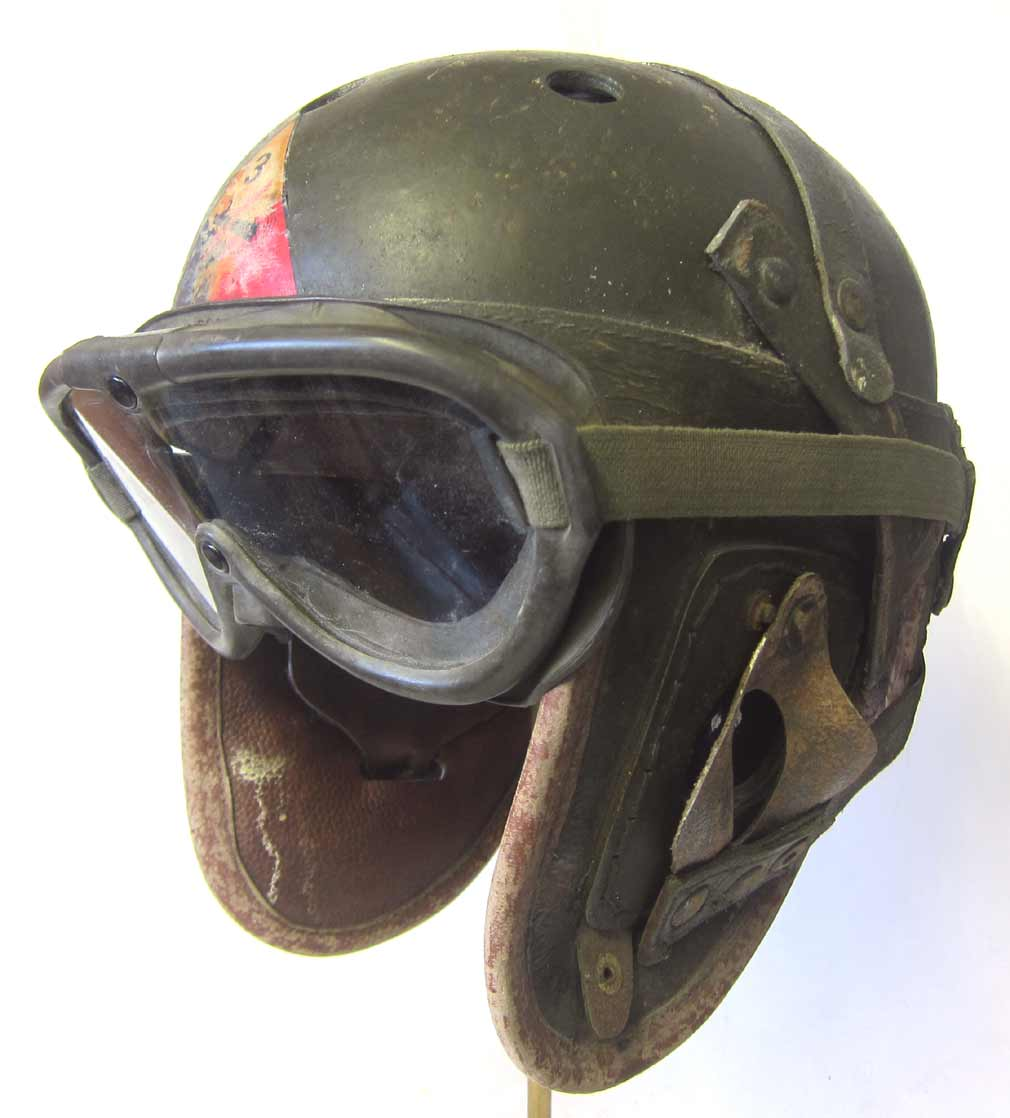WW2 USA M1938 Tanker Helmet 3d Armoured division