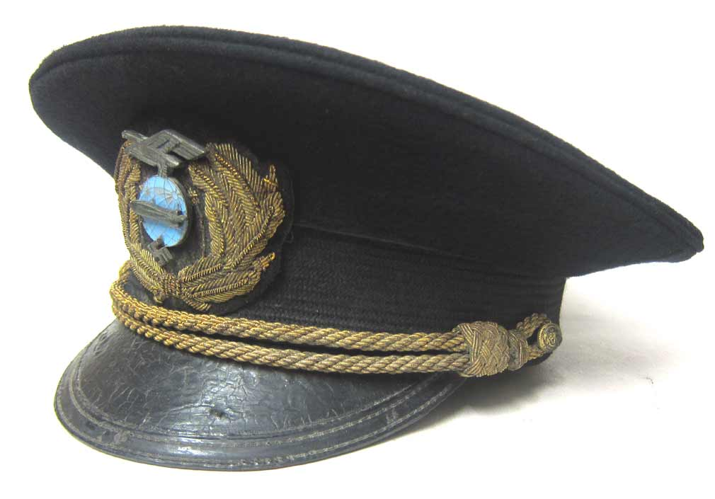 German Zeppelin Cap Albert Sammt