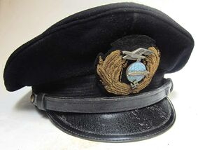 Zeppelin Officer Blue Topped Cap
