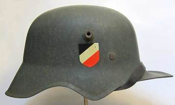 WW1 German M18 'Cut Out' with M31 WW2 Liner