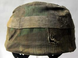 M36 M37 & M38 German Paratrooper Camouflage Cover - Aged