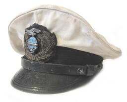 Zeppelin White Officers Cap