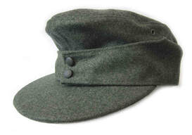 German WW2 M42 to M43 Transitional Cap - Enlisted men and NCOs