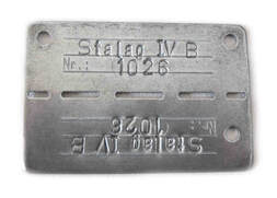 Stalag IV B Dog Tag - Allied