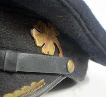 Blue Topped U-Boat Cap with Badge