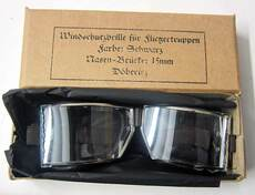WW1 German Flying goggles & Box