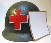 US Helmet Stencil USA Medical Red Cross version #2