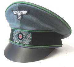 Panzergrenadier Officers Crusher Cap