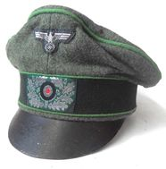 German Panzer Grenadier Officers crusher cap