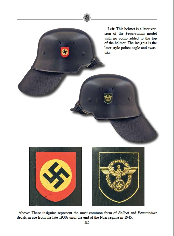 The Helmet Decals Of The Third Reich Book