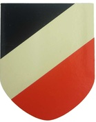 German WW2 National Colours Decal